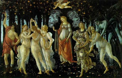 The Springtime, Botticelli